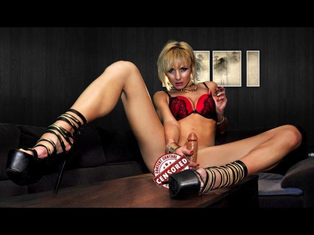 geile Weiber in einer Sex Show